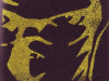 Front - Gold on black